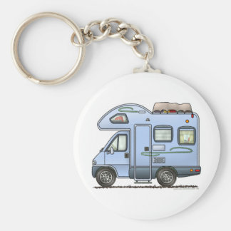 Over Cab Camper RV Keychain