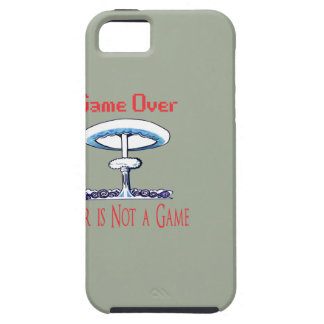 Over game, War is Not to Game iPhone 5 Cover