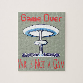 Over game, War is Not to Game Jigsaw Puzzle