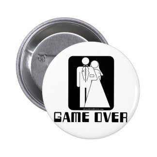 Over game Wedding Pins