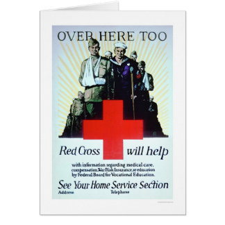 Over Here Too (US00241) Greeting Card