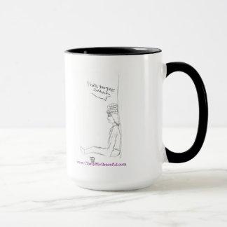 """""""Over It"""" Mug"""