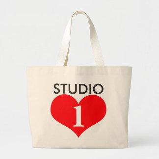 Over-Sized Studio 1 Love Tote Jumbo Tote Bag