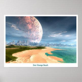 Over Strange Beaches Poster