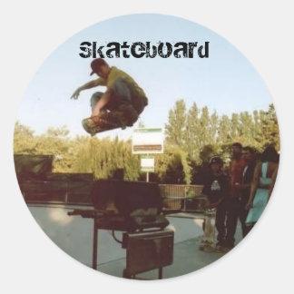 over the BBQ, Skateboard Sticker