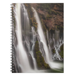 Over the Edge Burney Falls Notebook
