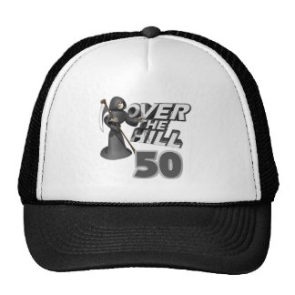 Over The Hill 50th Birthday Gift Cap