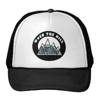 Over The Hill 50th Birthday Gifts Cap