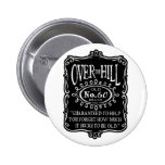 Over The Hill 60th Pinback Buttons