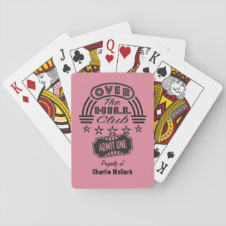 Over The Hill Club Personalized Cards