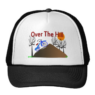 """""""Over The Hill"""" Funny Birthday Gifts Hat"""