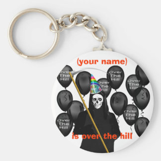 Over the Hill Key Ring
