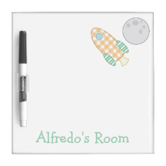 Over the Moon Dry Erase Board