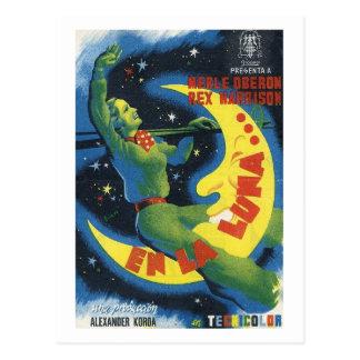Over the Moon, Film Movie 1937 Vintage Postcard