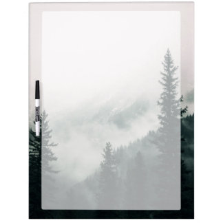 Over the Mountains and trough the Woods Dry Erase Board