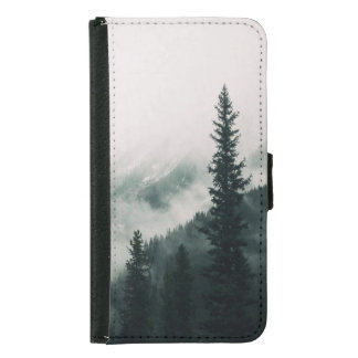 Over the Mountains and trough the Woods Samsung Galaxy S5 Wallet Case