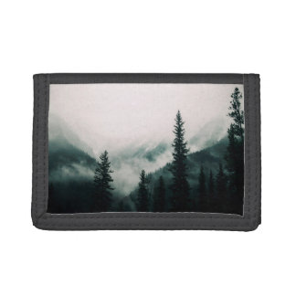 Over the Mountains and trough the Woods Trifold Wallet