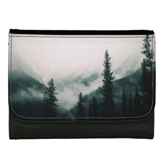 Over the Mountains and trough the Woods Wallet For Women
