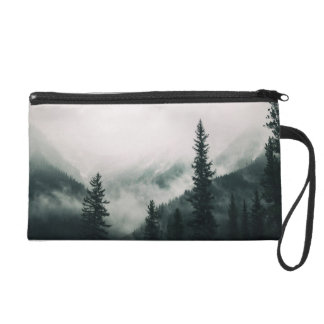 Over the Mountains and trough the Woods Wristlet