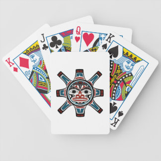 OVER THE MOUNTAINS BICYCLE PLAYING CARDS