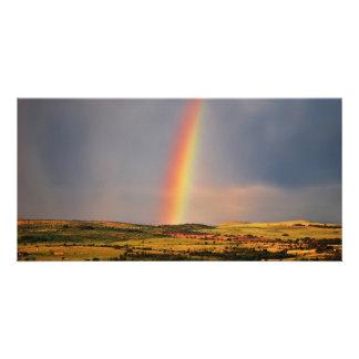 Over The Rainbow Custom Photo Card