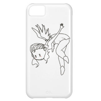 over the shoulder angel iPhone 5C case