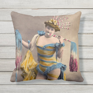 Over the Top Patriotic Cushion