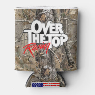 Over The Top Racing Camo Can Cooler