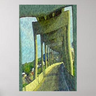 Over & Under Bridge Poster