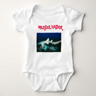 Overalls Baby Diver Baby Bodysuit