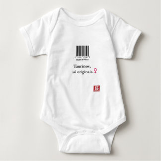 "Overalls for babies: taurinos ""Made in Venus "" Baby Bodysuit"