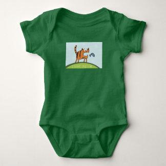 Overalls for baby Bodysuit theme I love my cat