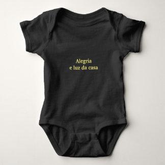 Overalls Joy - Black Baby Bodysuit