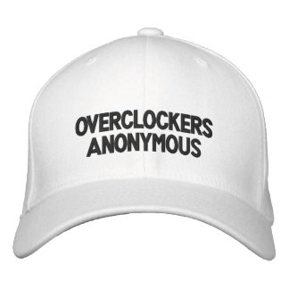 Overclockers Anonymous Embroidered Hat