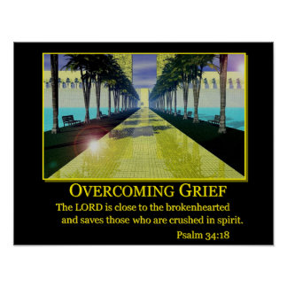 Overcoming Grief Poster