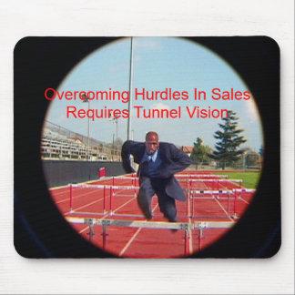 Overcoming Hurdles Mouse Pad