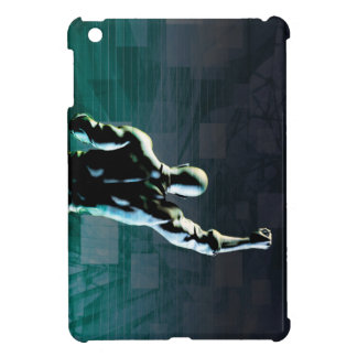 Overcoming Obstacles with Man Achieving Success iPad Mini Cases