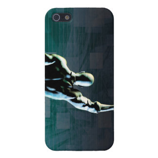 Overcoming Obstacles with Man Achieving Success iPhone 5 Covers