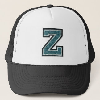 Overcooked Letter Z Trucker Hat