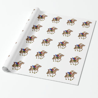 Overeager Cowboy Gift Wrap