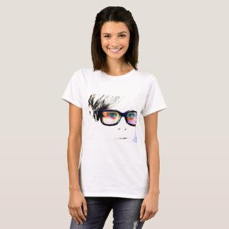 Overexposed Modern Art Portrait T-Shirt