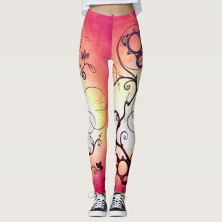 Overgrowth Fire Leggings