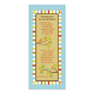 Overheard in an Orchard Card