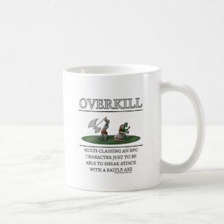 Overkill Fantasy (de)Motivator Coffee Mug