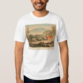Overland Mail Company (1268A) T-shirts