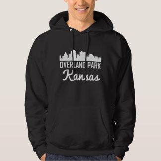 Overland Park Kansas Skyline Hoodie