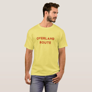 Overland Route T-shirt