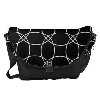 Overlapping Circles Commuter Bags