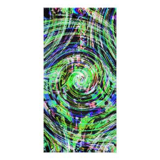 Overlapping Winds Custom Photo Card