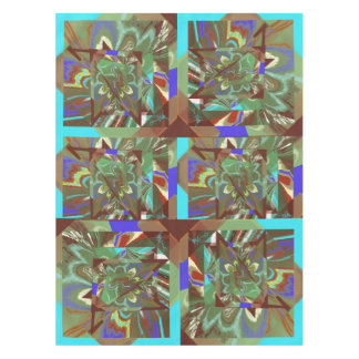 Overlay Abstract Exciting Design Tablecloth